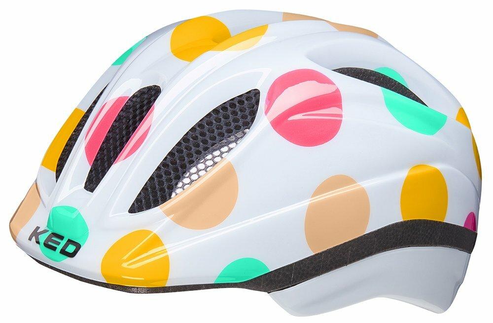 přilba KED Meggy Trend XS dots colorful 44-49 cm
