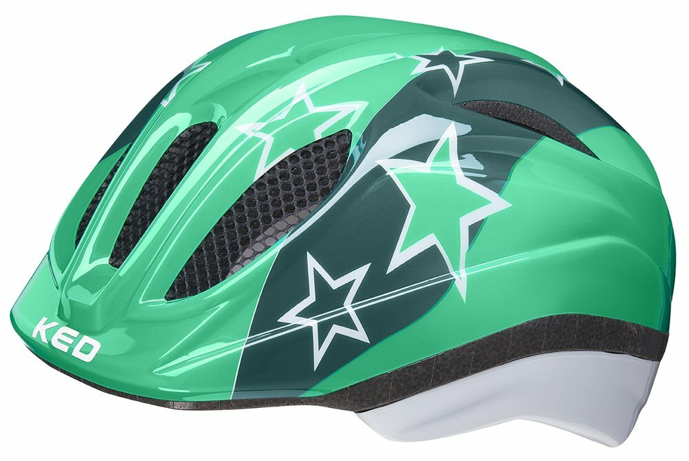 přilba KED Meggy M green stars 52-58 cm