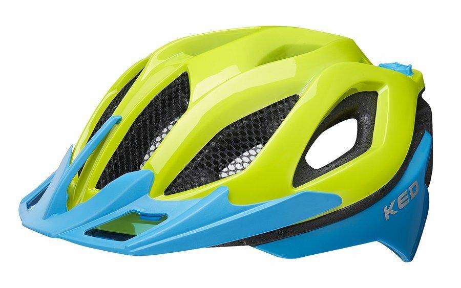 přilba KED Spiri Two M green blue 52-58 cm