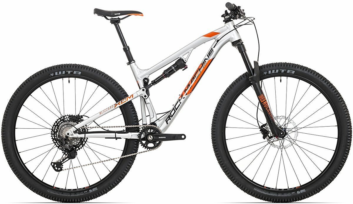kolo Rock Machine Blizzard XCM 70-29 gloss silver/neon orange/black (L)