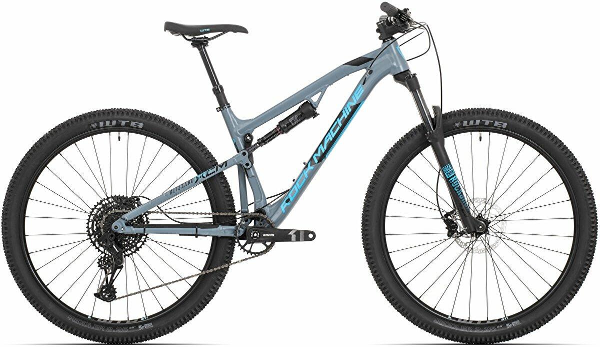 kolo Rock Machine Blizzard XCM 30-29 mat slate grey/neon blue/black (M)