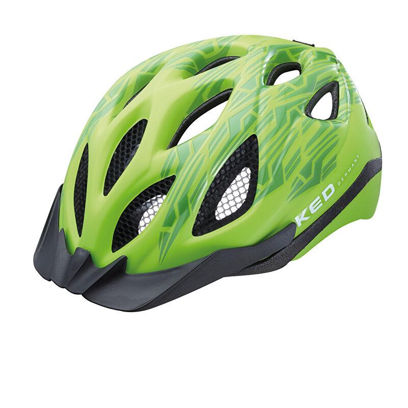 přilba KED Tronus M zelená matt/lesk  52-56 cm