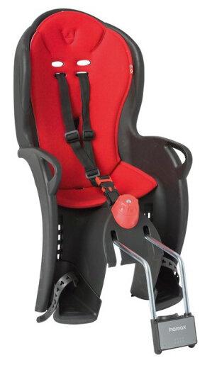 Dětská sedačka zadní HAMAX Sleepy černo/červená