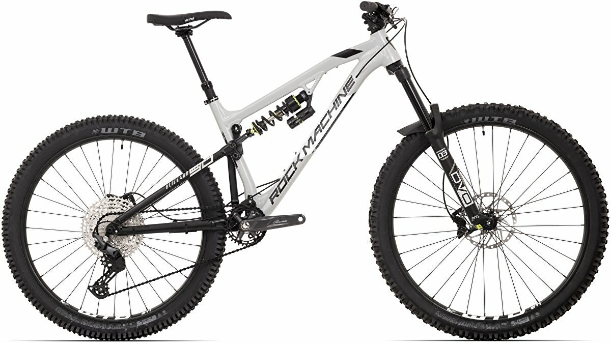 "Horské kolo Rock Machine Blizzard 50-297 mat grey/white/black 29""/27,5"" (mullet) vel. M-17"""