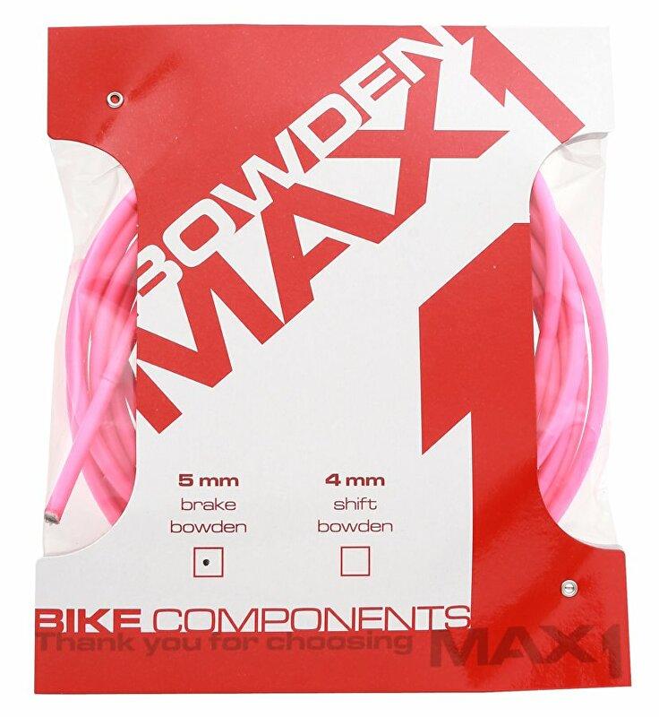 Bowden MAX1 5mm fluo růžová balení 3m
