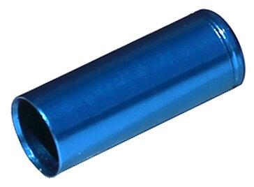 koncovka bowdenu MAX1 CNC Alu 5 mm utěsněná modrá 100 ks