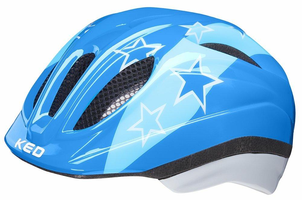 přilba KED Meggy M blue stars 52-58 cm
