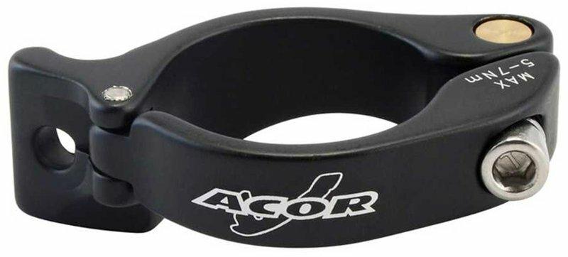 objímka na přesmykač ACOR 31,8 mm černá