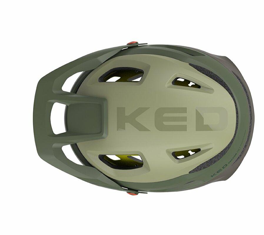 přilba KED Pector MIPS M olive lilac 52-58 cm