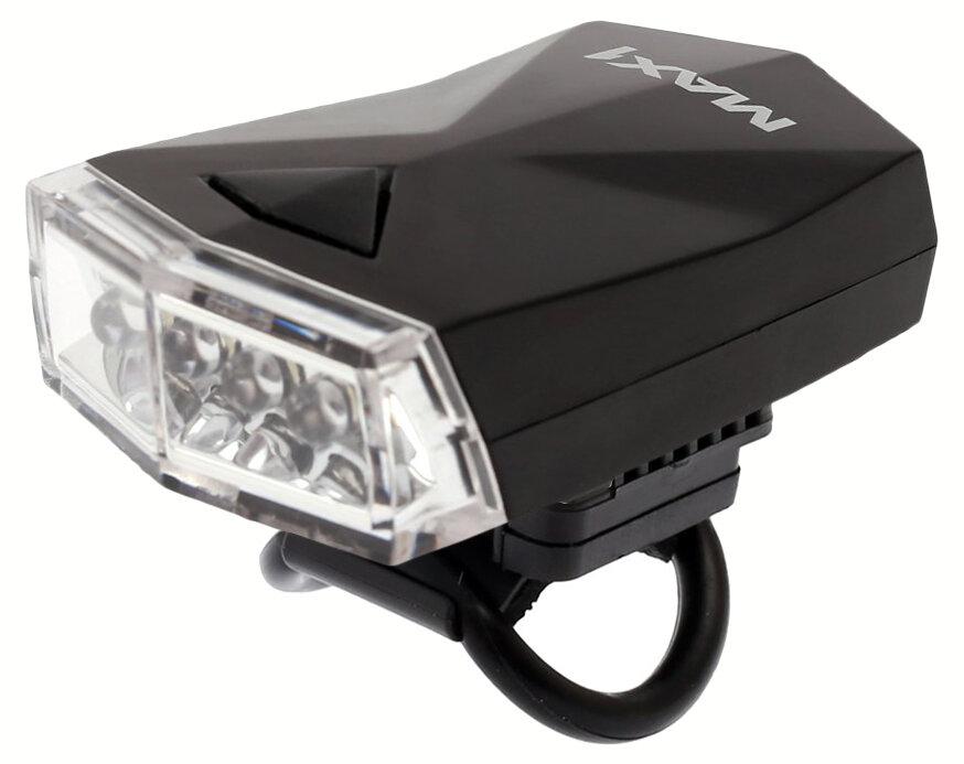 světlo přední MAX1 Diamant černé