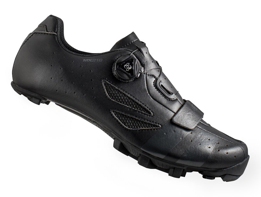 tretry LAKE MX218 Carbon černo/šedé vel.42