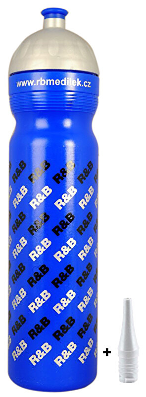lahev R+B 1 l Uni RB modrá
