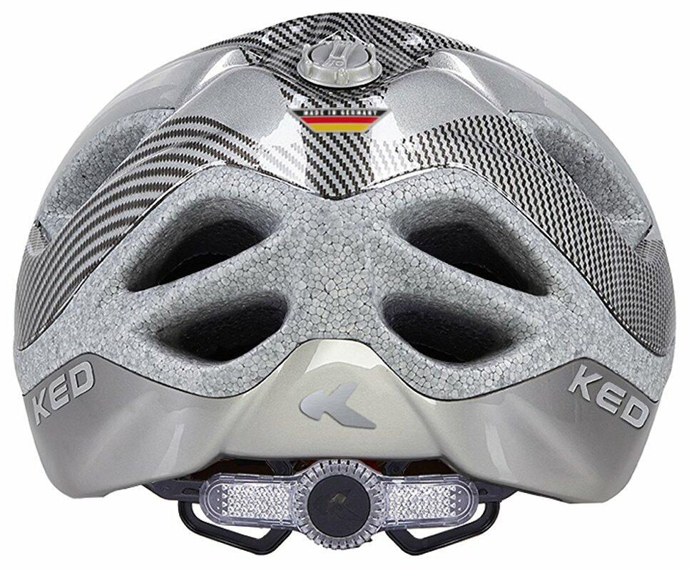 přilba KED Certus K-Star L silver 55-63 cm