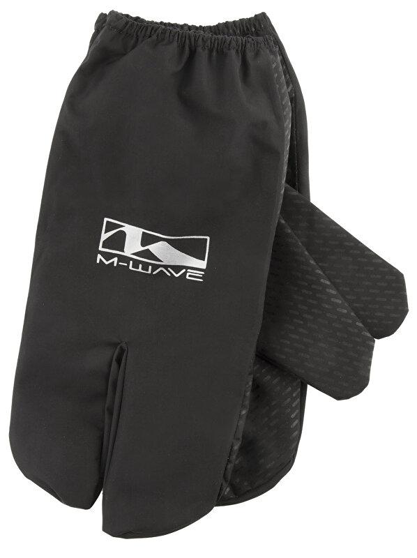 rukavice M-WAVE Lobster černé vel.L/XL wind-water stop, ochranný potah!