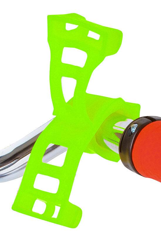 držák silikonový ROTO pro mobil a navigaci zelený