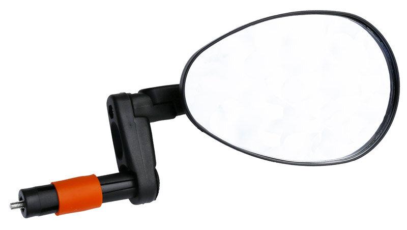 Zrcátko MAX1 3D zpětné do řidítek sklopné velké
