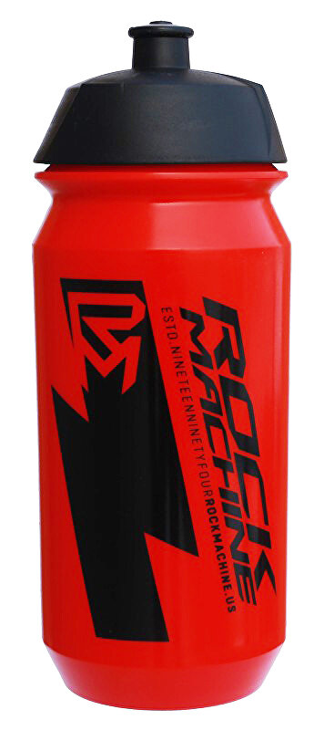 Lahev ROCK MACHINE Performance 0,6 l červená