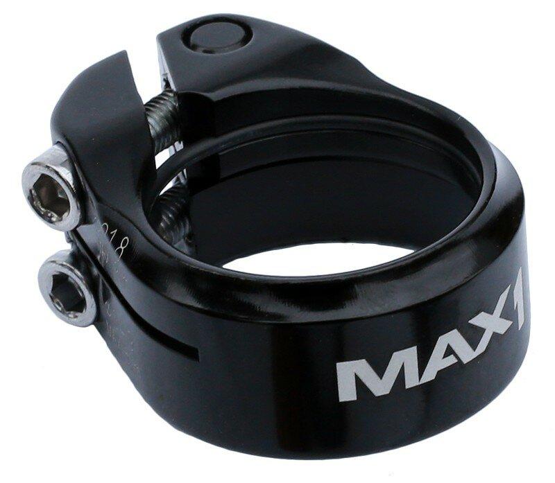 Sedlová objímka MAX1 Double 34,9 mm imbus černá
