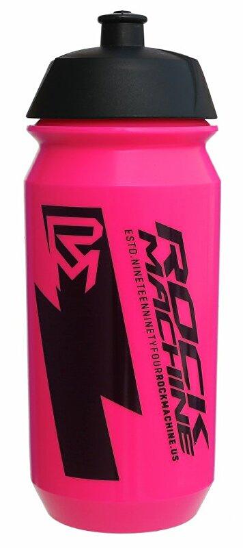 Lahev ROCK MACHINE Performance 0,6 l fluo růžová