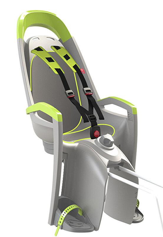 sedačka zadní HAMAX Amaze lock šedo/lime reflex