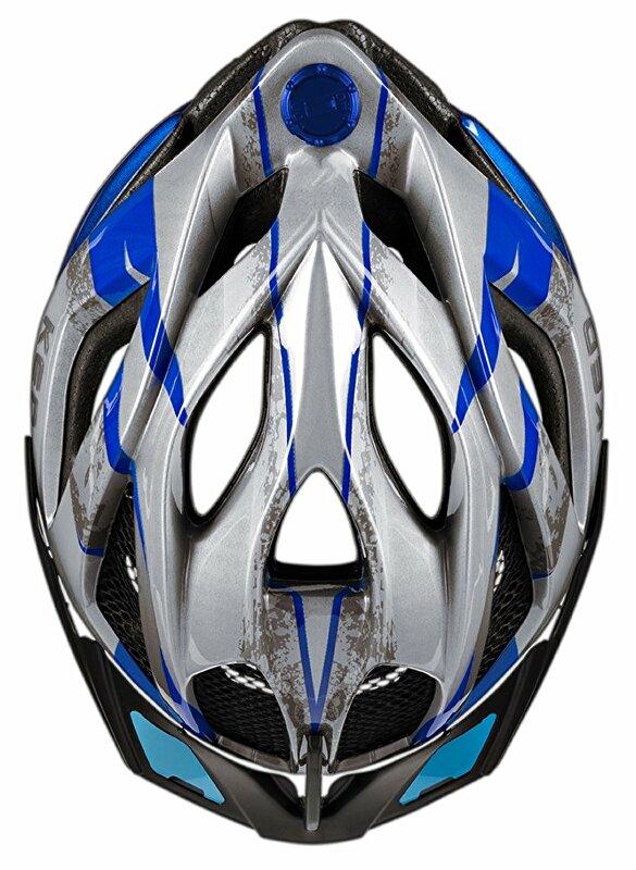 přilba KED Spiri Two K-Star L blue 55-61 cm