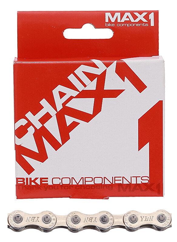 Řetěz MAX1 11 speed, 116L, stříbrný, se spojkou
