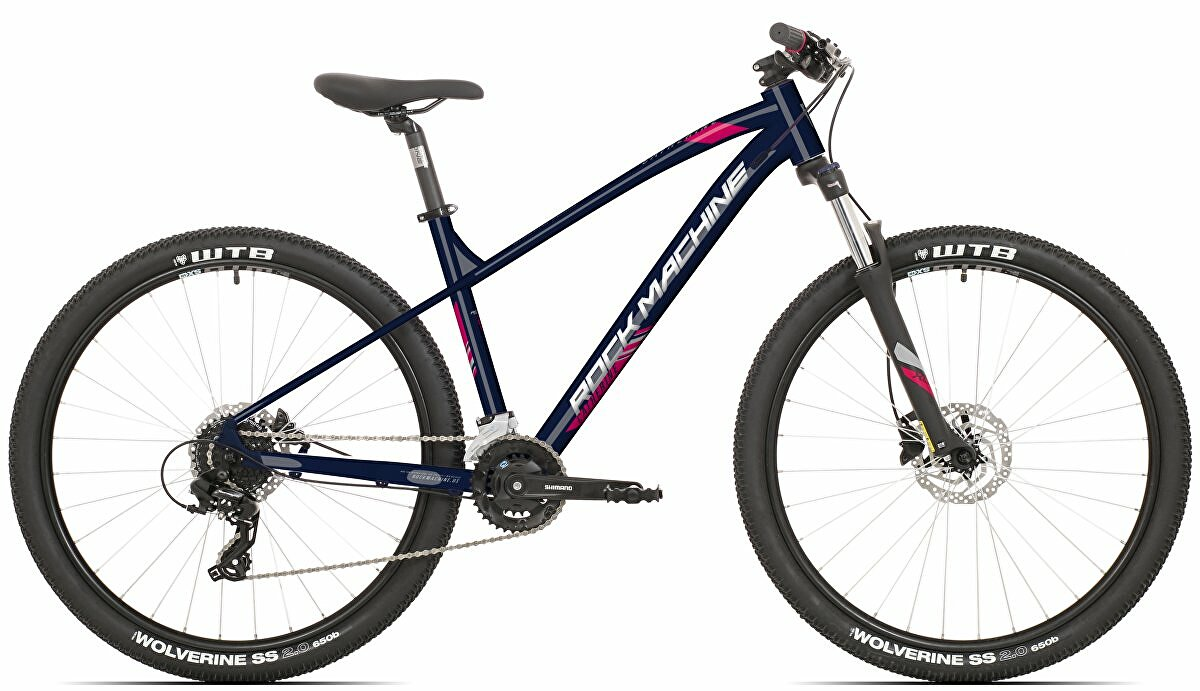 kolo Rock Machine Catherine 70-27 (XS) gloss dark blue/pink/silver