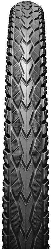 plášť CHAOYANG 700x35C (622-37) H-5113 27 tpi černý s reflexním proužkem