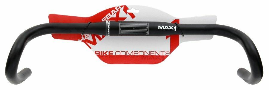 Řidítka MAX1 Gravel 460/31,8 mm černé