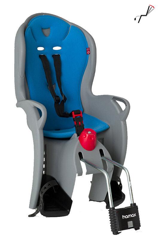 sedačka zadní HAMAX Sleepy šedo/modrá