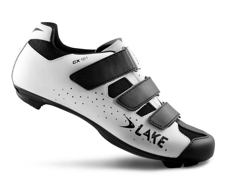 tretry LAKE CX161 bílo/černé vel.36