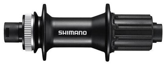 Náboj disc Shimano FH-MT400-B 32děr Center Lock 12mm e-thru-axle 148mm 8-11 rychlostí zadní černý