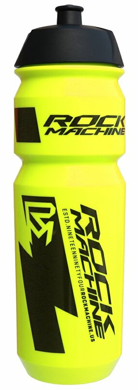 lahev ROCK MACHINE Performance 0,85 l fluo žlutá