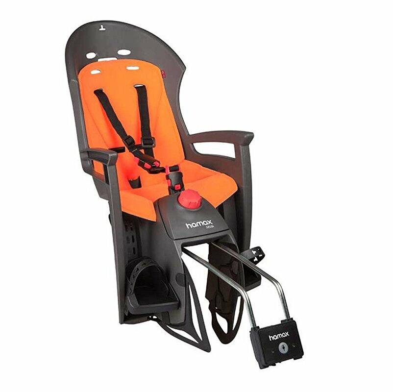 sedačka zadní HAMAX SIESTA šedo/oranžová