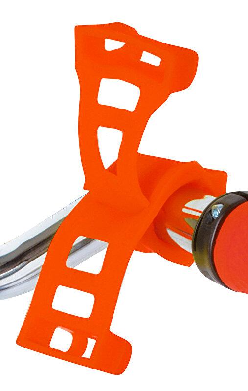 držák silikonový ROTO pro mobil a navigaci oranžový