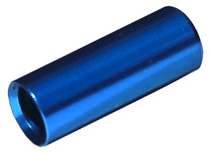 koncovka bowdenu MAX1 CNC Alu 4 mm utěsněná modrá 100 ks