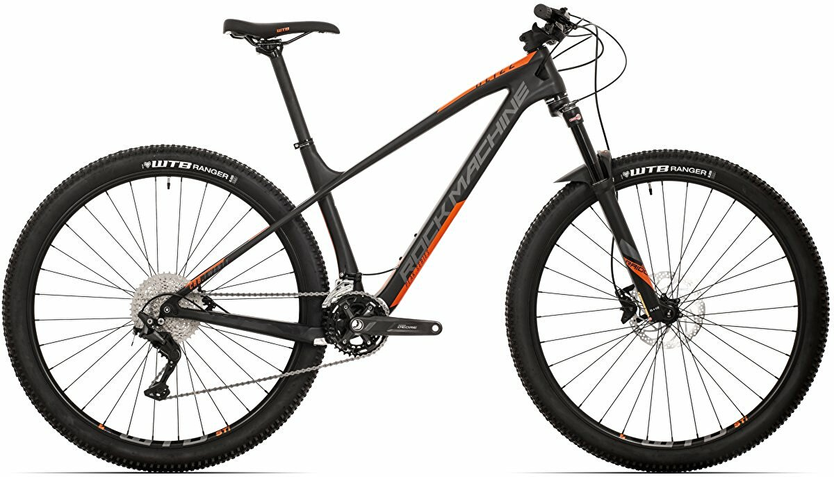 Horské kolo Rock Machine Blizz CRB 20-29  mat black/dark grey/orange 2021