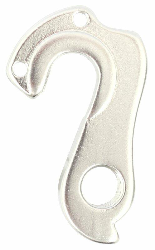 koncovka/patka/hák rámu CM11 stříbrná