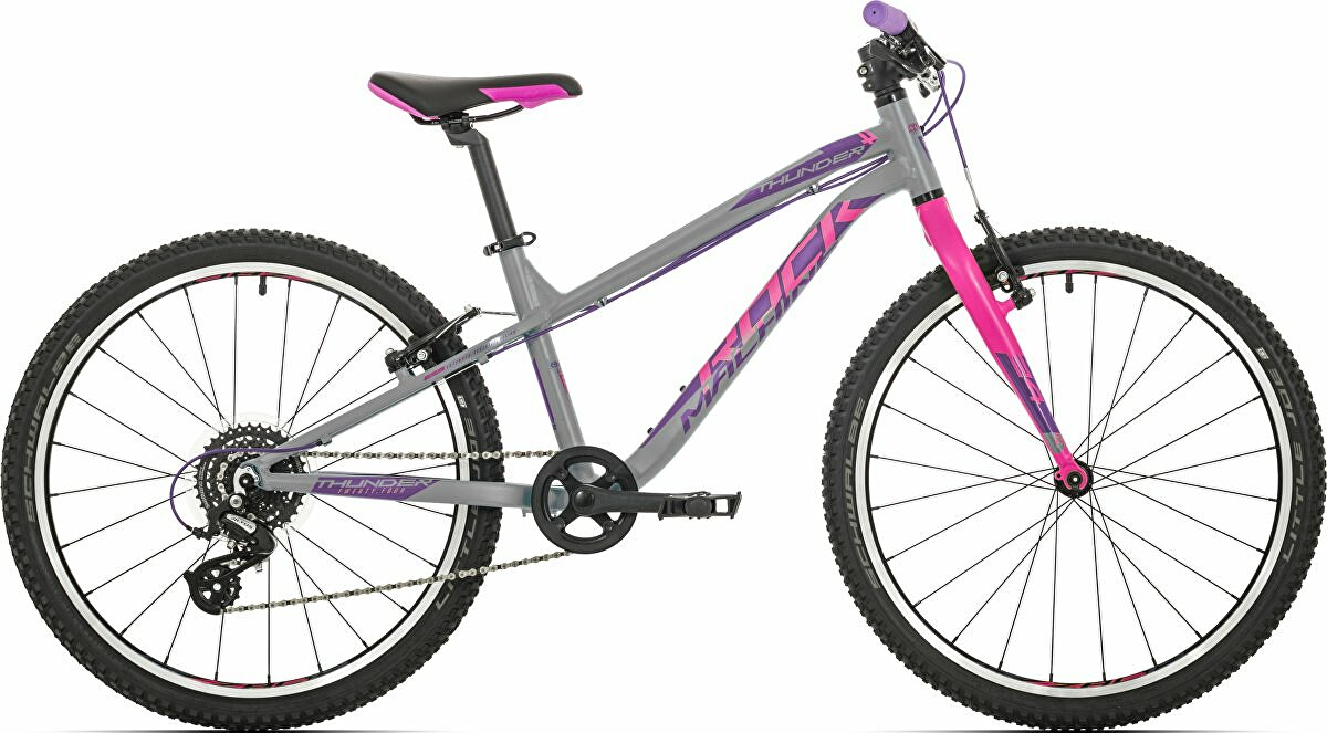 kolo Rock Machine Thunder 24 gloss grey/pink/violet