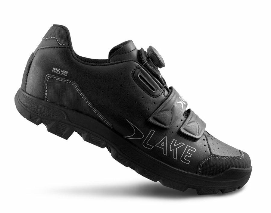 tretry LAKE MX168 Enduro černé vel.46
