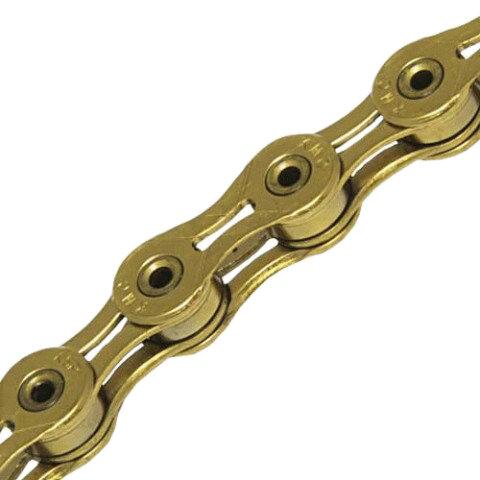 Řetěz KMC X-11 SL pokovení nitridem titanu - odstín zlatá