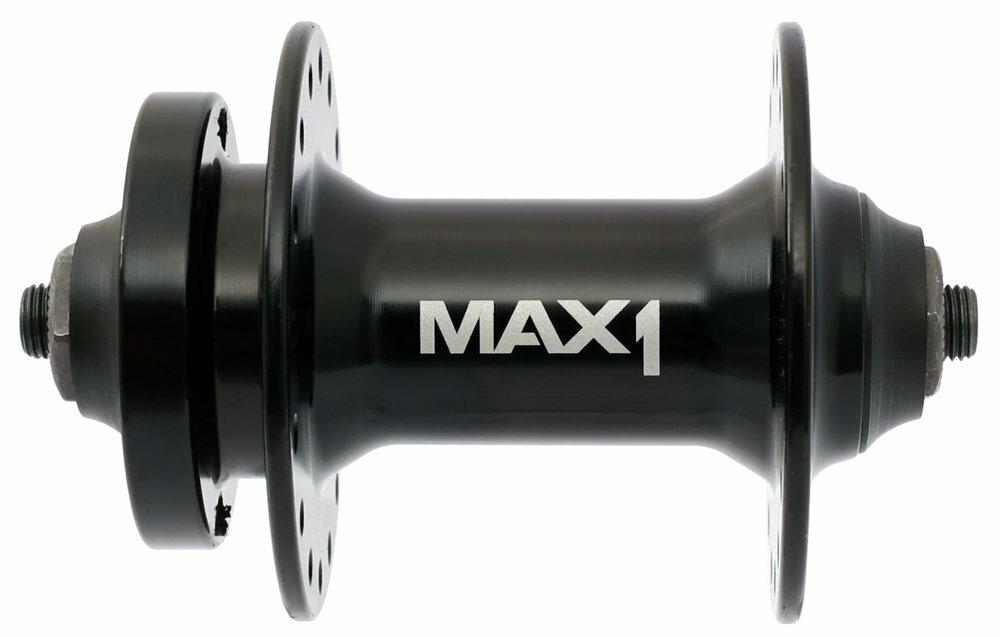 náboj přední MAX1 Sport 32h 6 děr černý