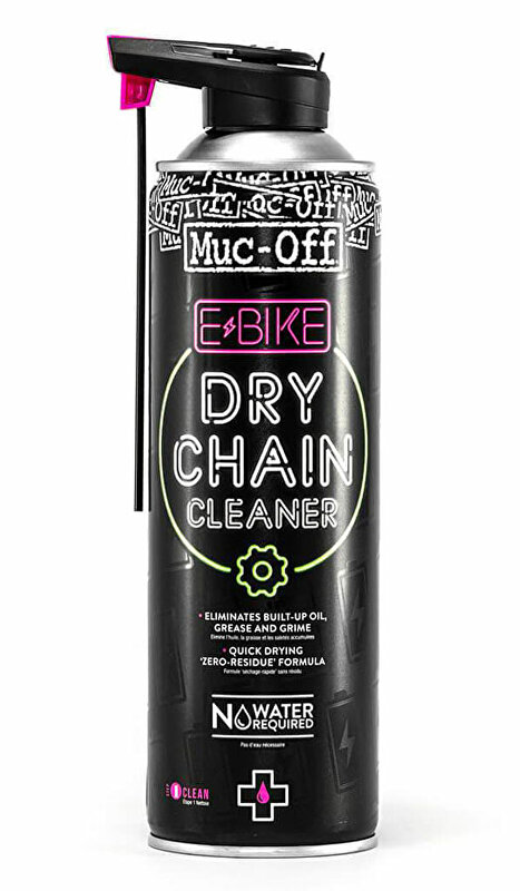 Čistič MUC-OFF E-Bike Dry Chain Cleaner 500 ml