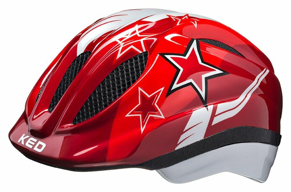 přilba KED Meggy S/M red stars 49-55 cm