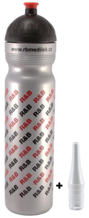 Lahev R+B 1 l Uni RB stříbrná