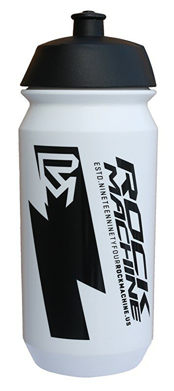 lahev ROCK MACHINE Performance 0,6 l bílá