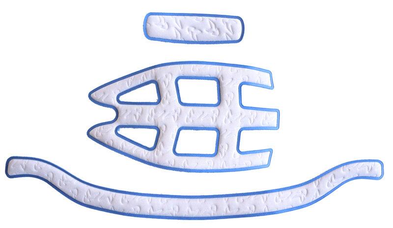 náhradní výstelky do přilby KED Crom/Kailu