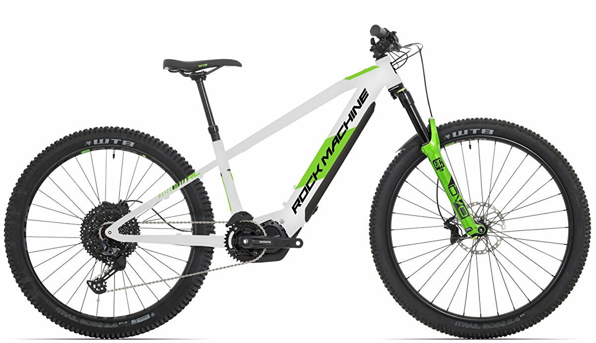 "Elektrokolo ROCK MACHINE Blizz INT TRL e90-297  g.light grey/DVO green/black 29""/27,5"" (mullet) 2021"