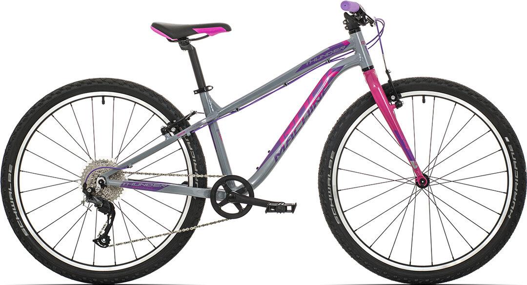 "kolo Rock Machine Thunder 26"" (XS) gloss grey/pink/violet 2021"