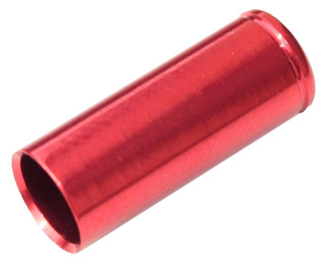 koncovka bowdenu MAX1 CNC Alu 5 mm červená 100 ks